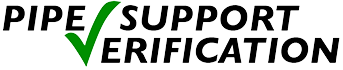 Pipe support verification logo